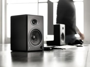 声擎A5+书架式有源音箱